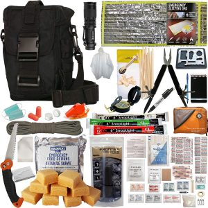 Bag out bag Prepper's Favorite Get Home Bag with First Aid Kit